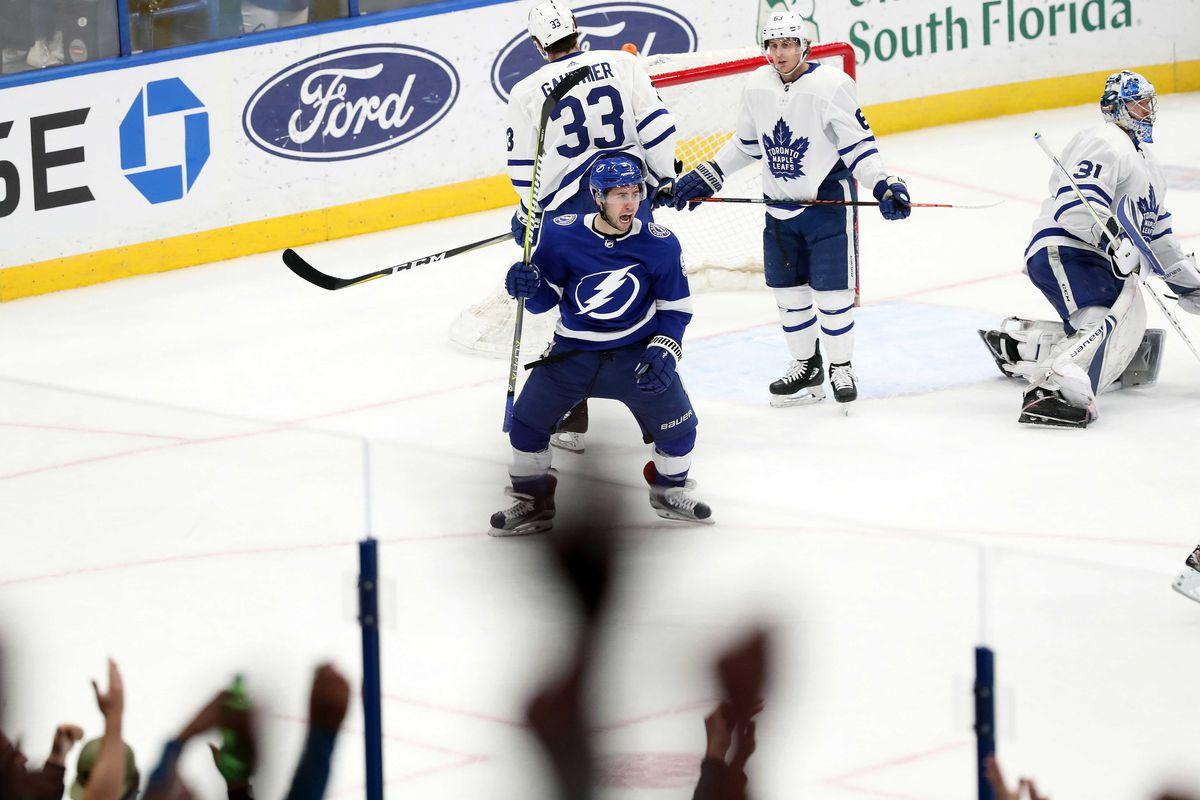 NHL: Toronto Maple Leafs at Tampa Bay Lightning