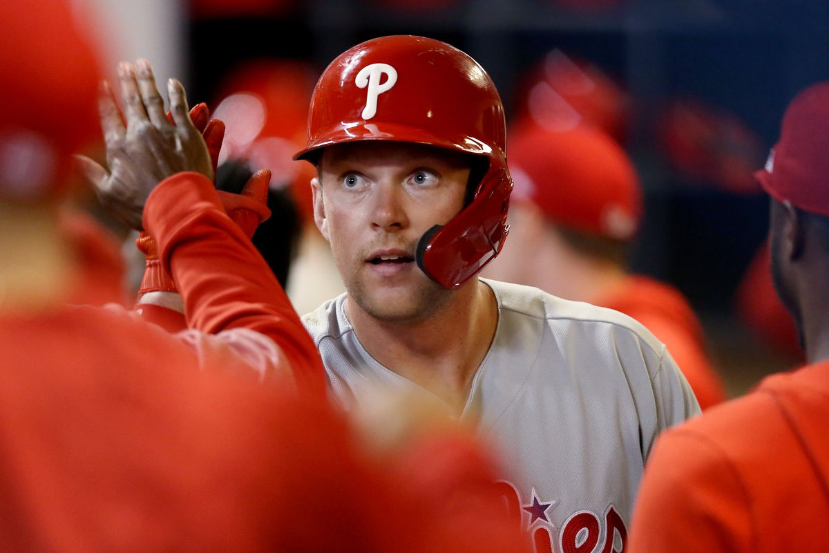 Close one: Phillies 6, Brewer 4