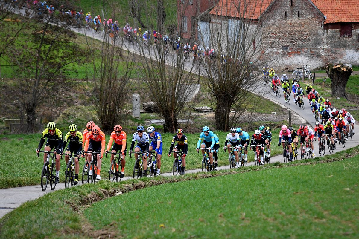 CYCLING OMLOOP HET NIEUWSBLAD RACE