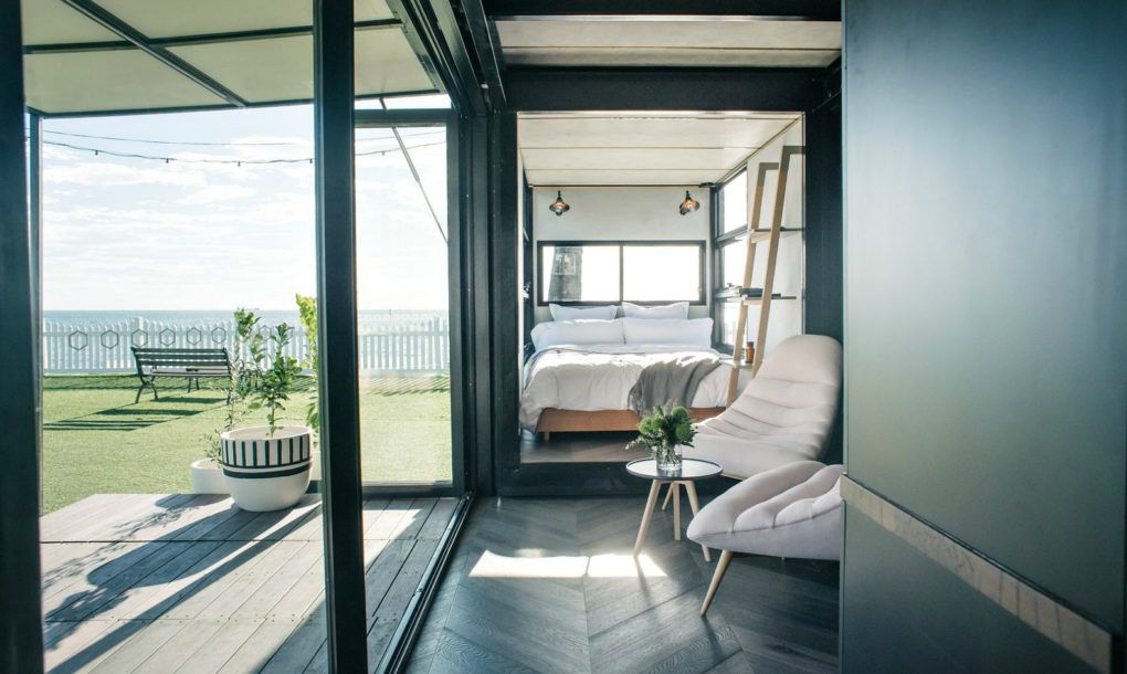 Is This The World S Most Luxe Shipping Container Hotel Curbed