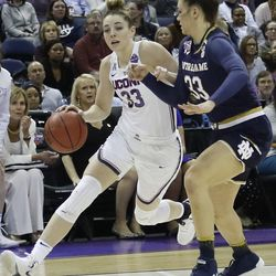2018 NCAA Women's Basketball Tournament Final 4 (Notre Dame Fighting Irish vs UConn Huskies)
