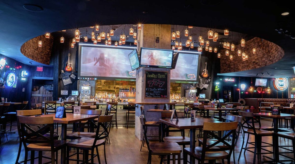 A honky tonk bar in Las Vegas