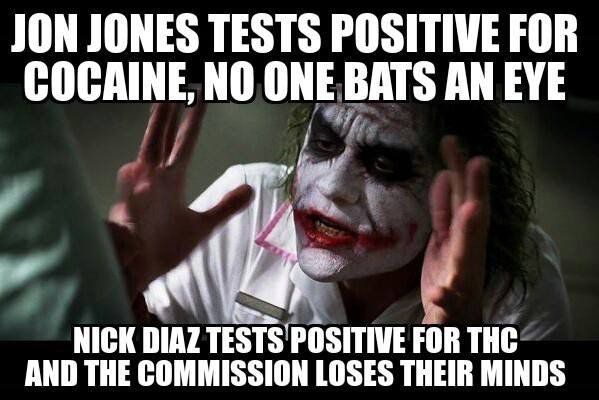 Bones Nose The Memes That Came Out Of The Jon Jones Cocaine