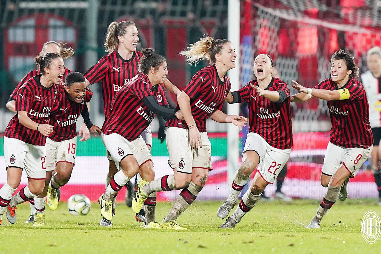 Stealing life from the jaws of death: The Milan Women tie Juventus 2-2