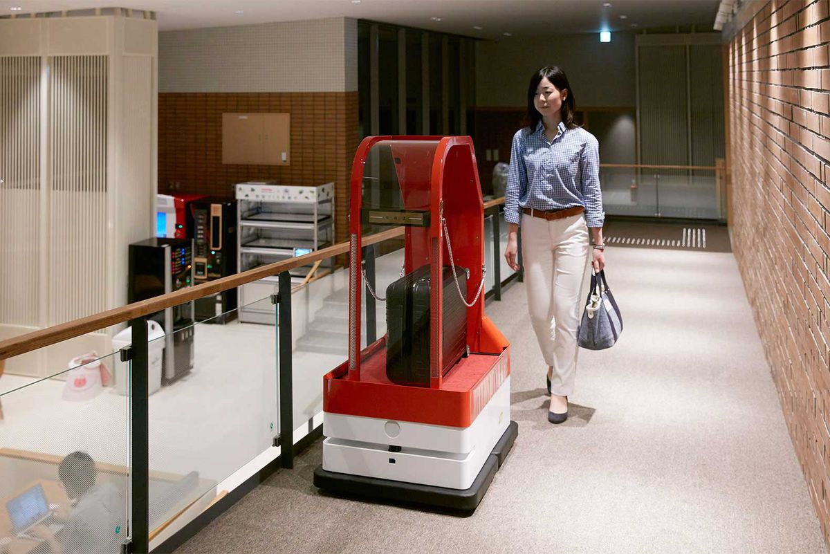 Robot-run Japanese hotel plans world dominance with 100 new