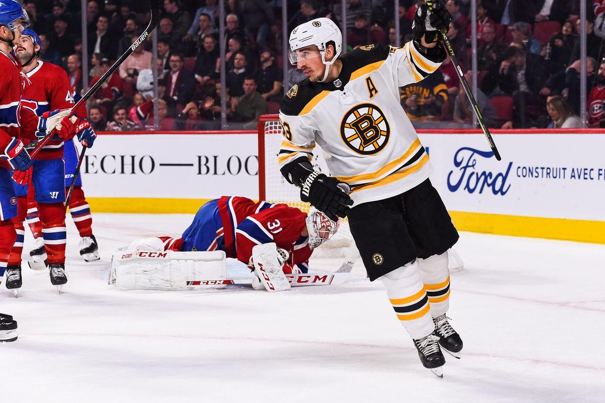 NHL: NOV 26 Bruins at Canadiens