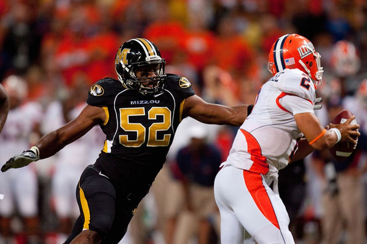 The Ravens are reportedly very interested in Missoui defensive end Michael Sam.
