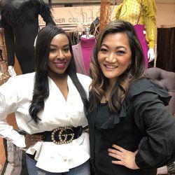 Ji Suk Yi and Karyn Beard of  Kham'ryn B. Boutique in Auburn Gresham. | Brian Rich/ Sun-Times