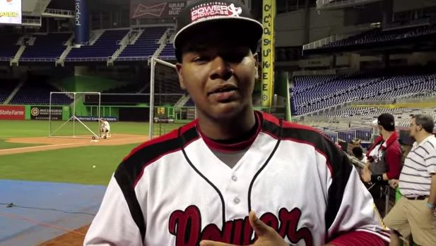 David Denson plays in the Milwaukee Brewers system.