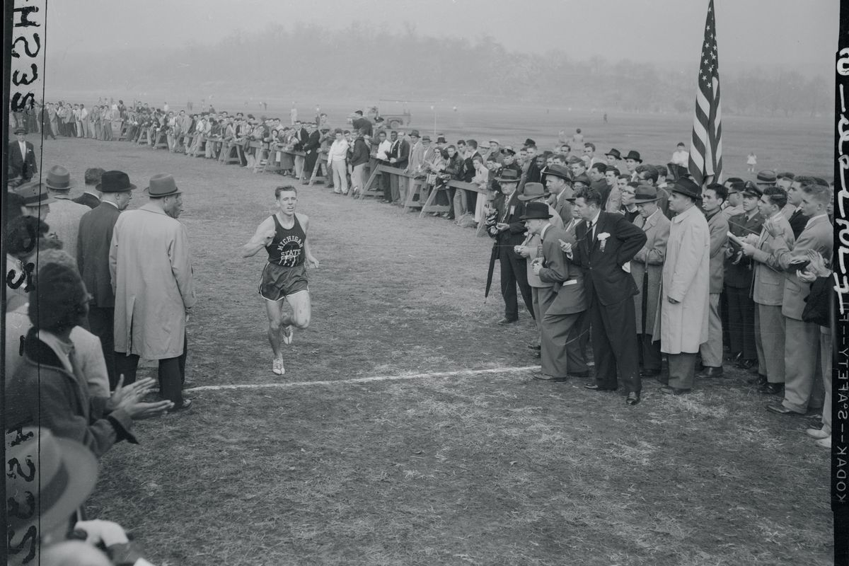 Henry Kennedy Crossing the Finish Line