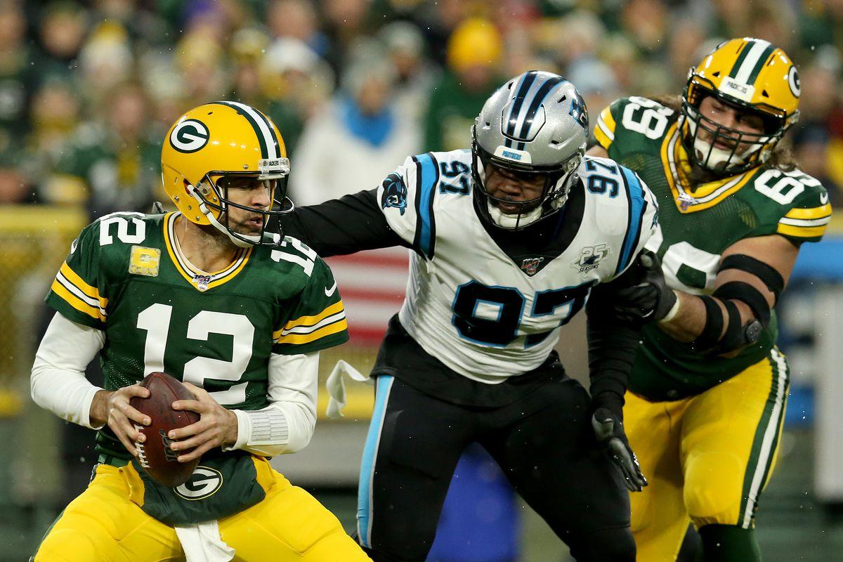 Carolina Panthers vGreen Bay Packers