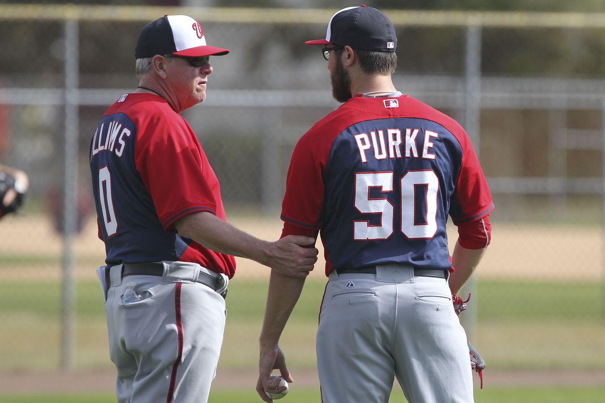 Spin Williams talks to Washington Nationals' prospect Matt Purke, Spring 2015