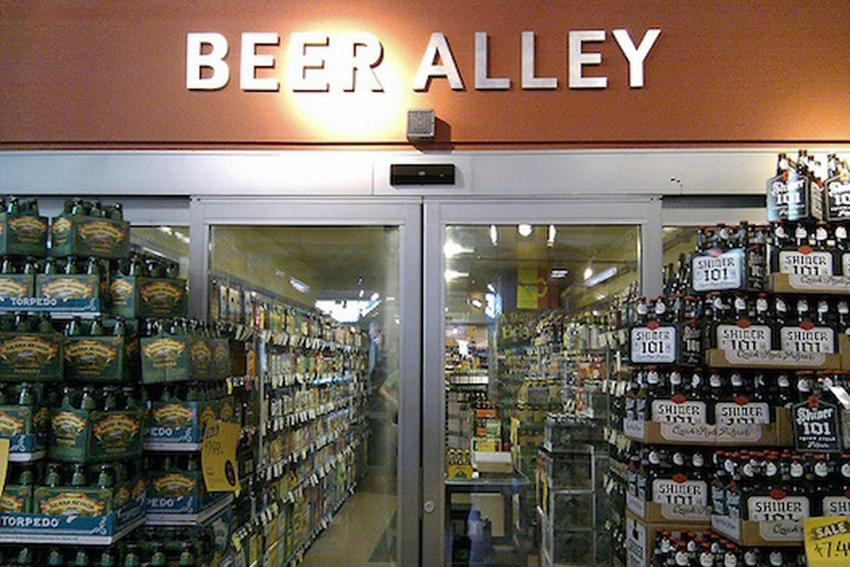 Beer Alley, Whole Foods Mothership.