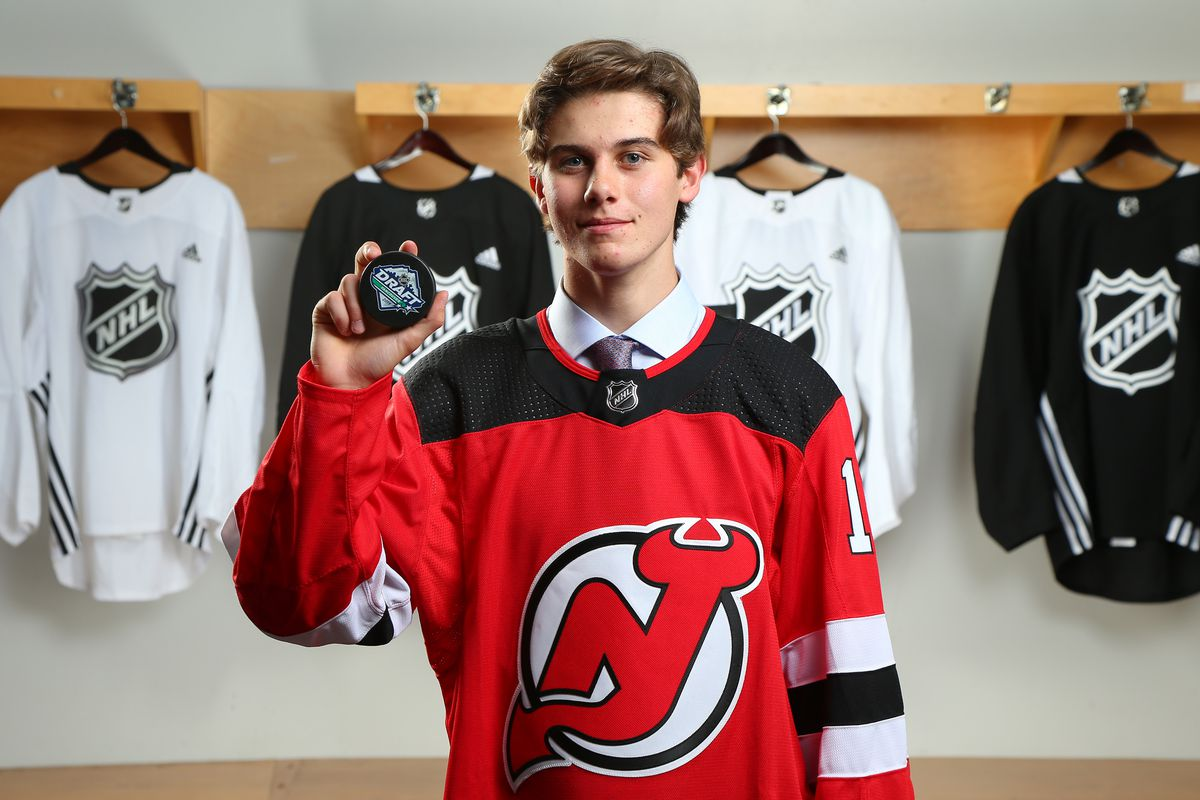 online store b51ff f505b Taking a Look at the New Jersey Devils 2019 Development Camp ...