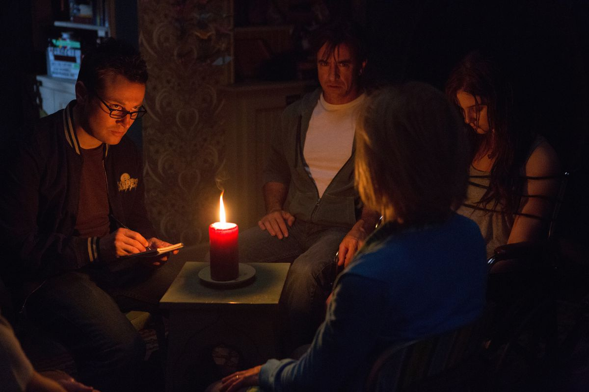 It's time for a seance in Insidious: Chapter 3.