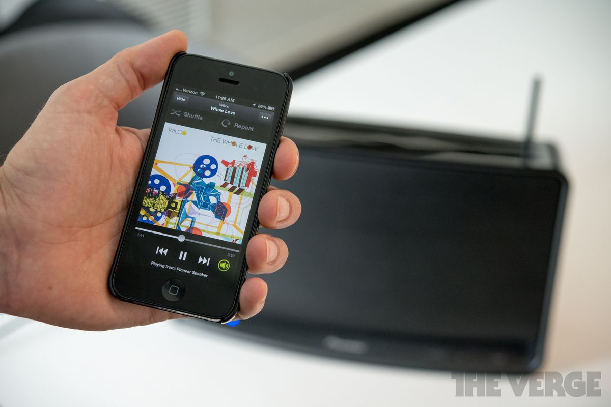 Spotify Connect lets you control and play music from any device