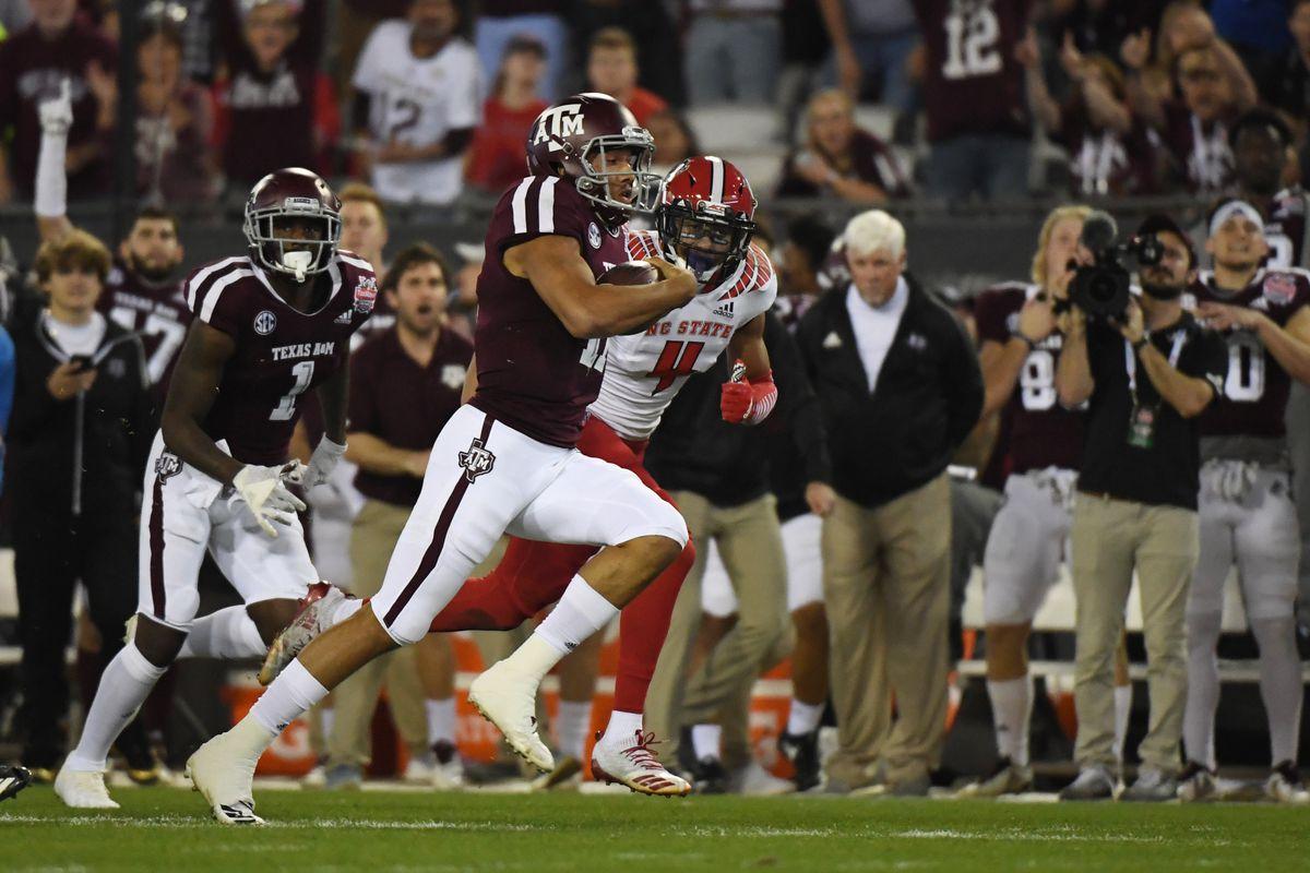 NCAA Football: TaxSlayer Gator Bowl-Texas A&M vs North Carolina State