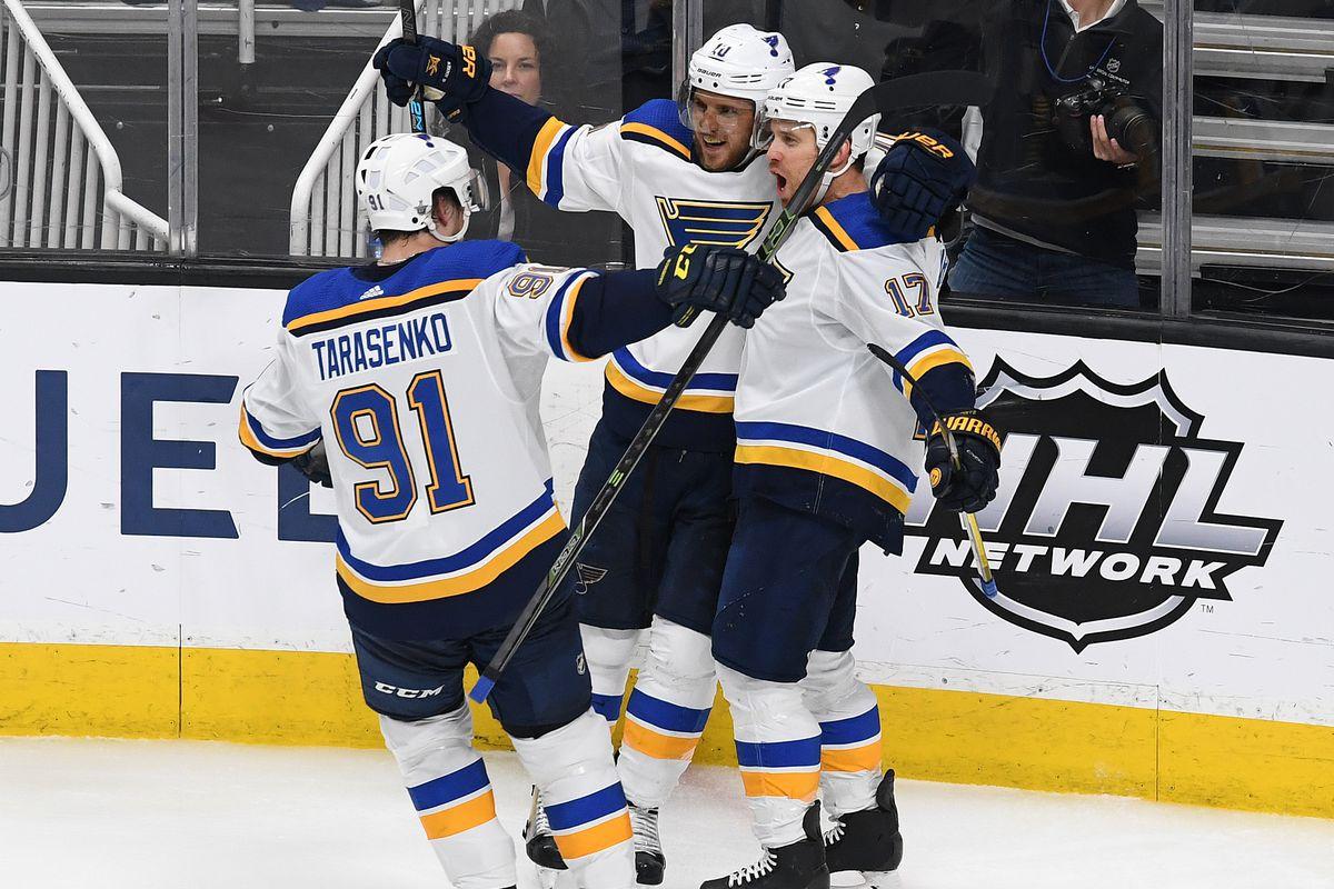 St Louis Blues v San Jose Sharks - Game Five