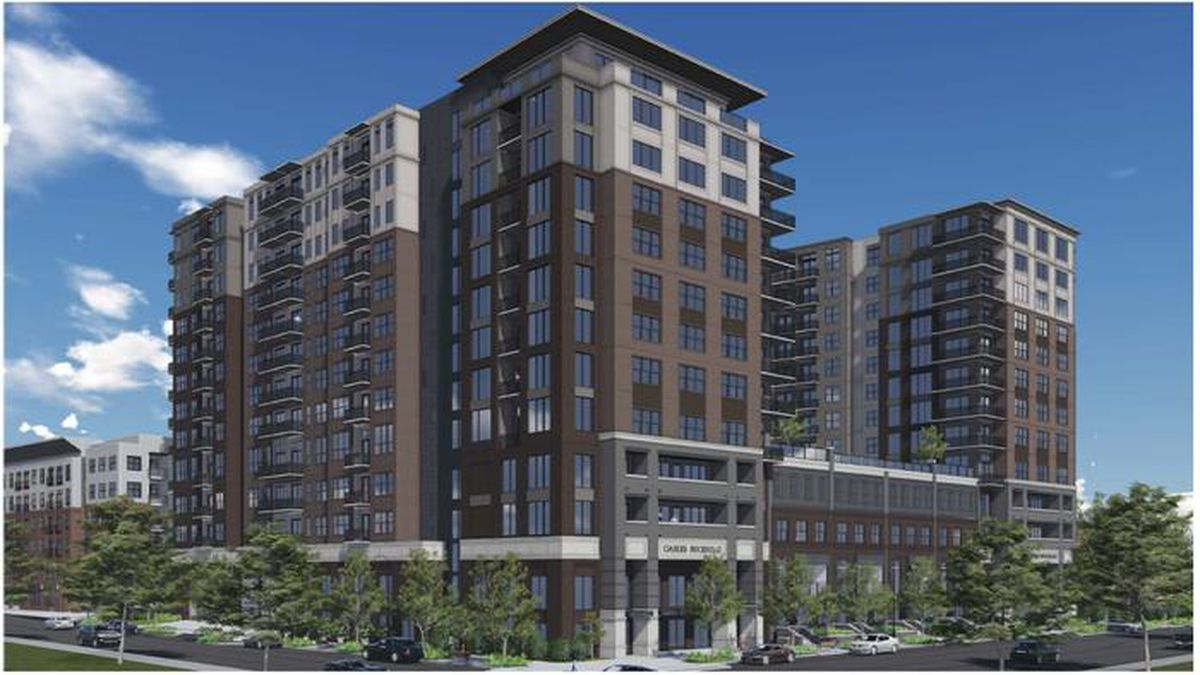 Gables buckhead construction spreads density eastward in for Camden paces townhomes