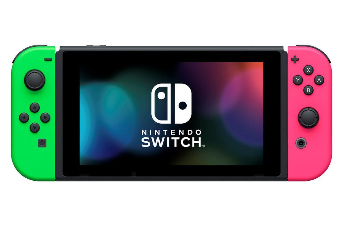 Nintendo\'s colorful Splatoon 2 Switch bundle is exclusive to Walmart ...