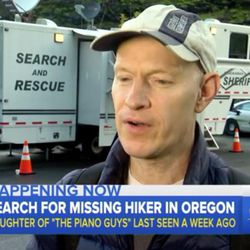 Well-known pianist Jon Schmidt speaks with the media regarding the disappearance of his 21-year-old daughter, Annie.