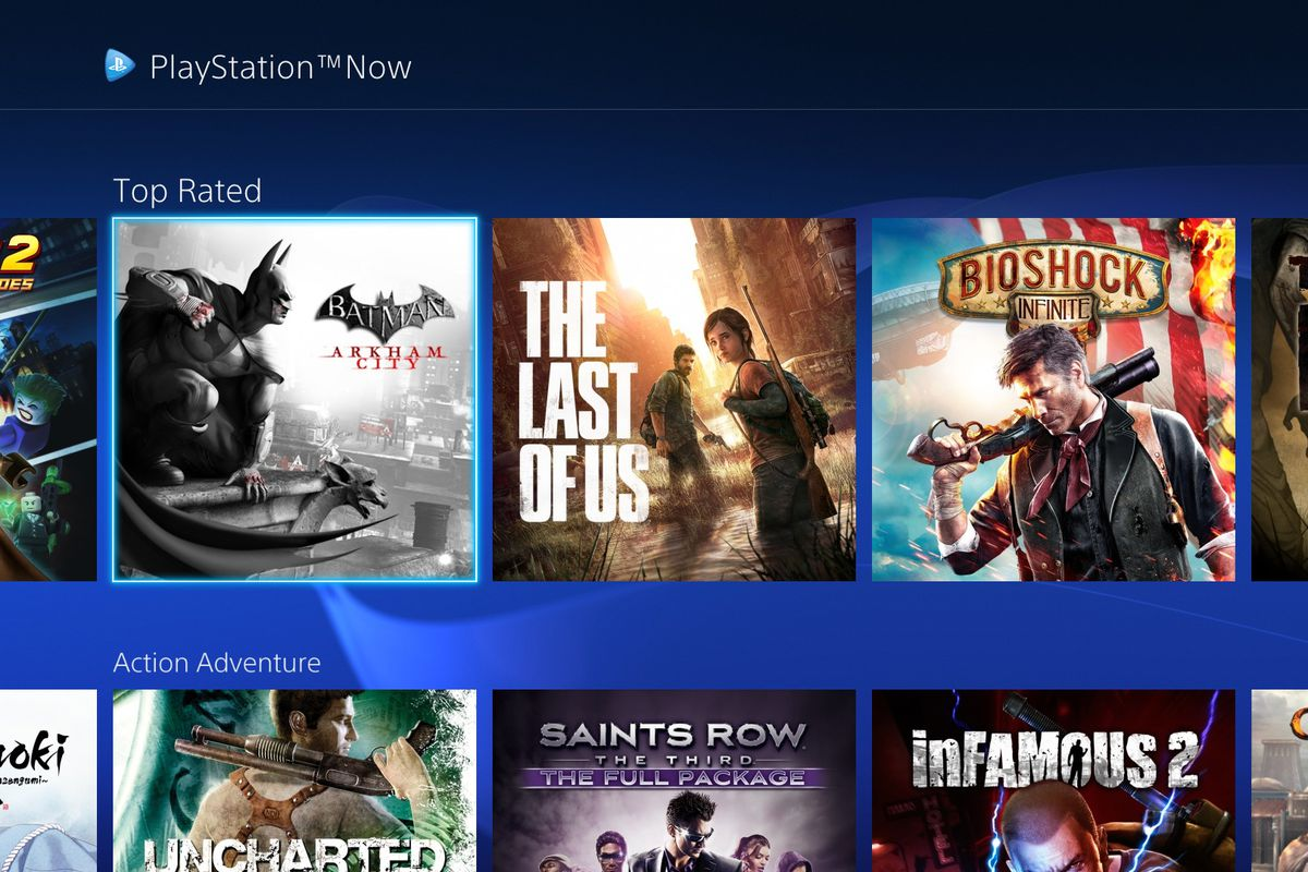 Sony just rolled out a big UI update to its PS Now game streaming service - The Verge