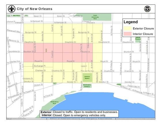 Here's a guide to French Quarter Festival street closures and ... on