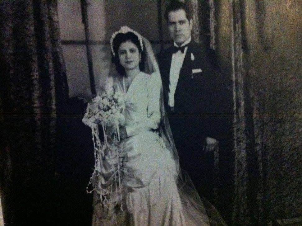 Josefina and Gregorio Sanchez on their wedding day. | supplied photo