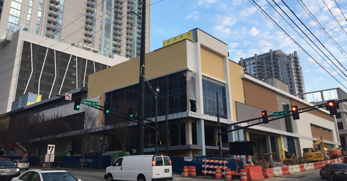 Midtown S Urbanized Whole Foods Is Beginning To Take Shape