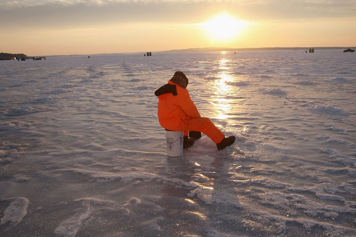 Minnesota Lake Boasts World's Biggest Ice Fishing Competition