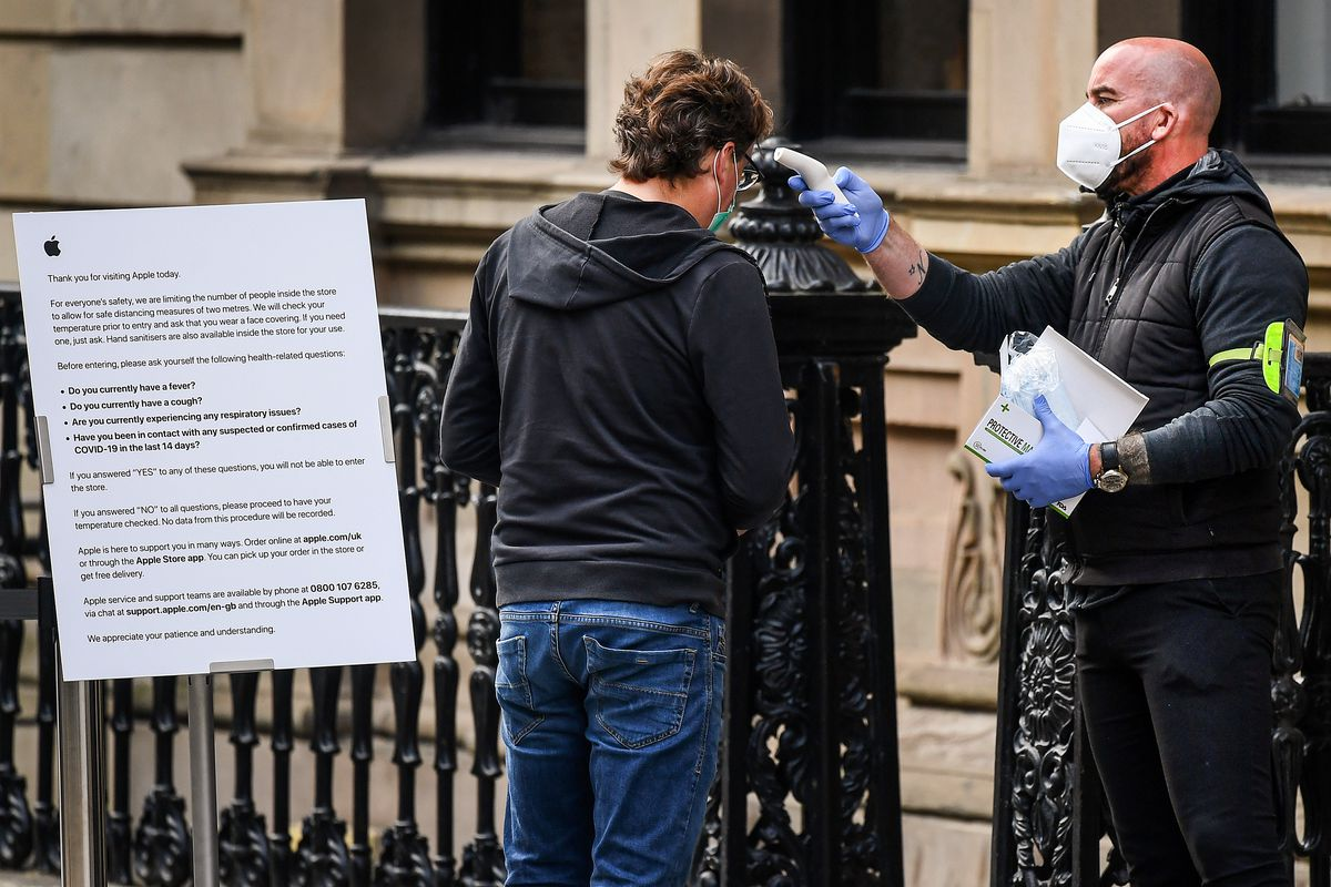 Nicola Sturgeon Announces Further Easing Of The Coronavirus Lockdown In Scotland