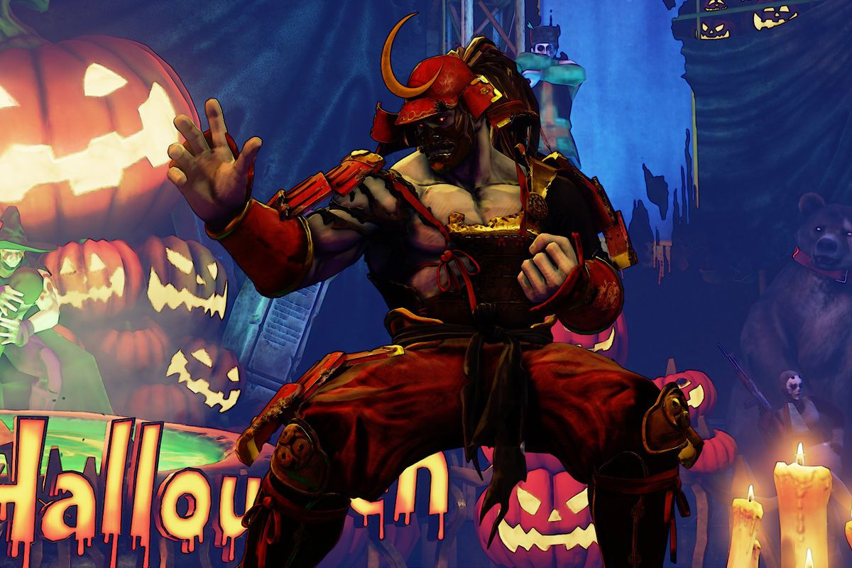 Street Fighter 5 is getting a Halloween-themed update - Polygon