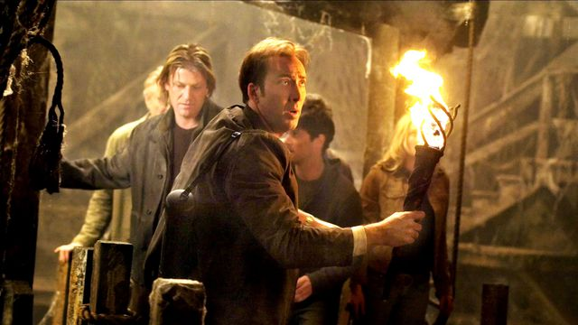 Nicolas Cage and Sean Bean on the hunt