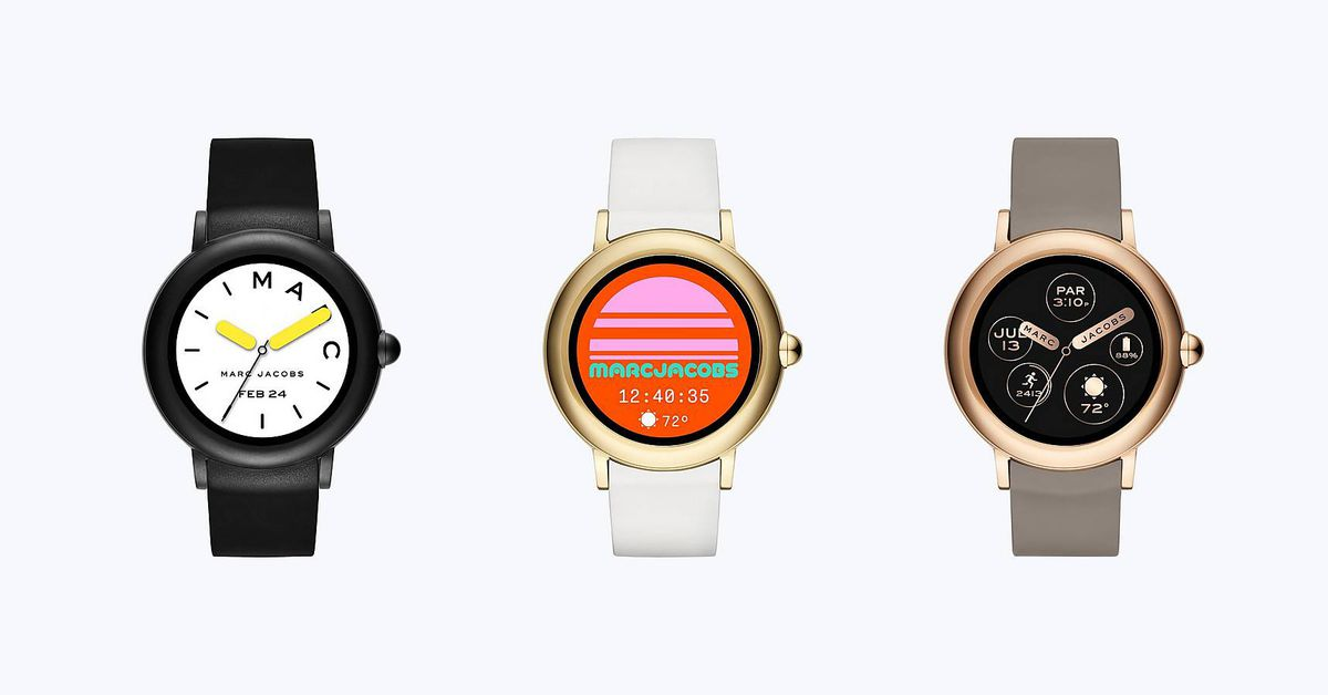 Marc Jacobs' new smartwatch gets a touchscreen at the ...