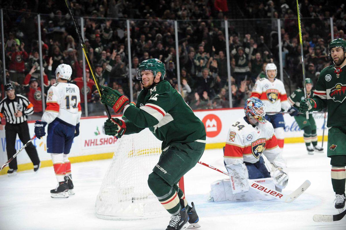 NHL: Florida Panthers at Minnesota Wild