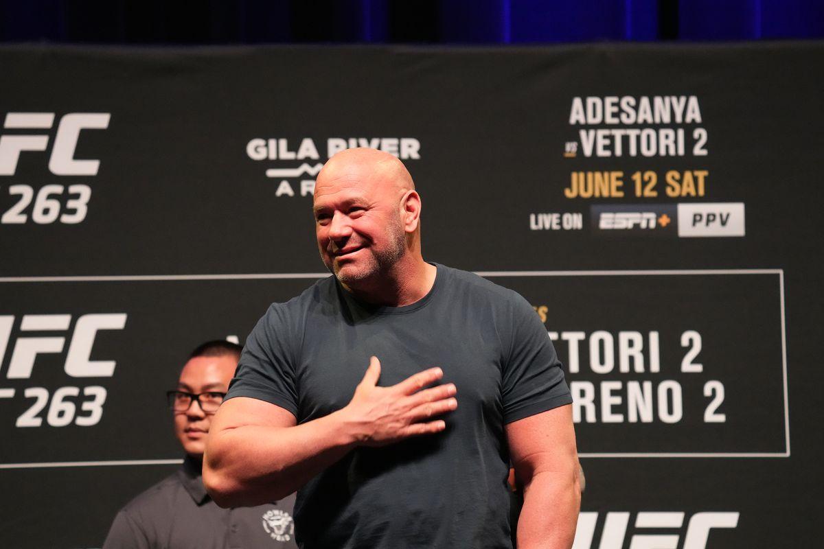 MMA: JUN 10 UFC 263 Press Conference