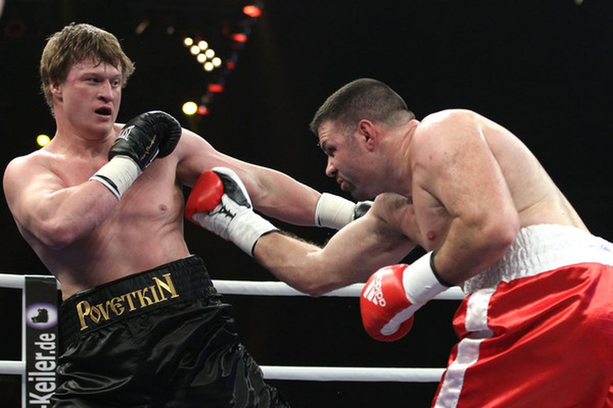 Alexander Povetkin faces Ruslan Chagaev on August 27, with Epix televising in the United States. (Photo by Boris Streubel/Bongarts/Getty Images)