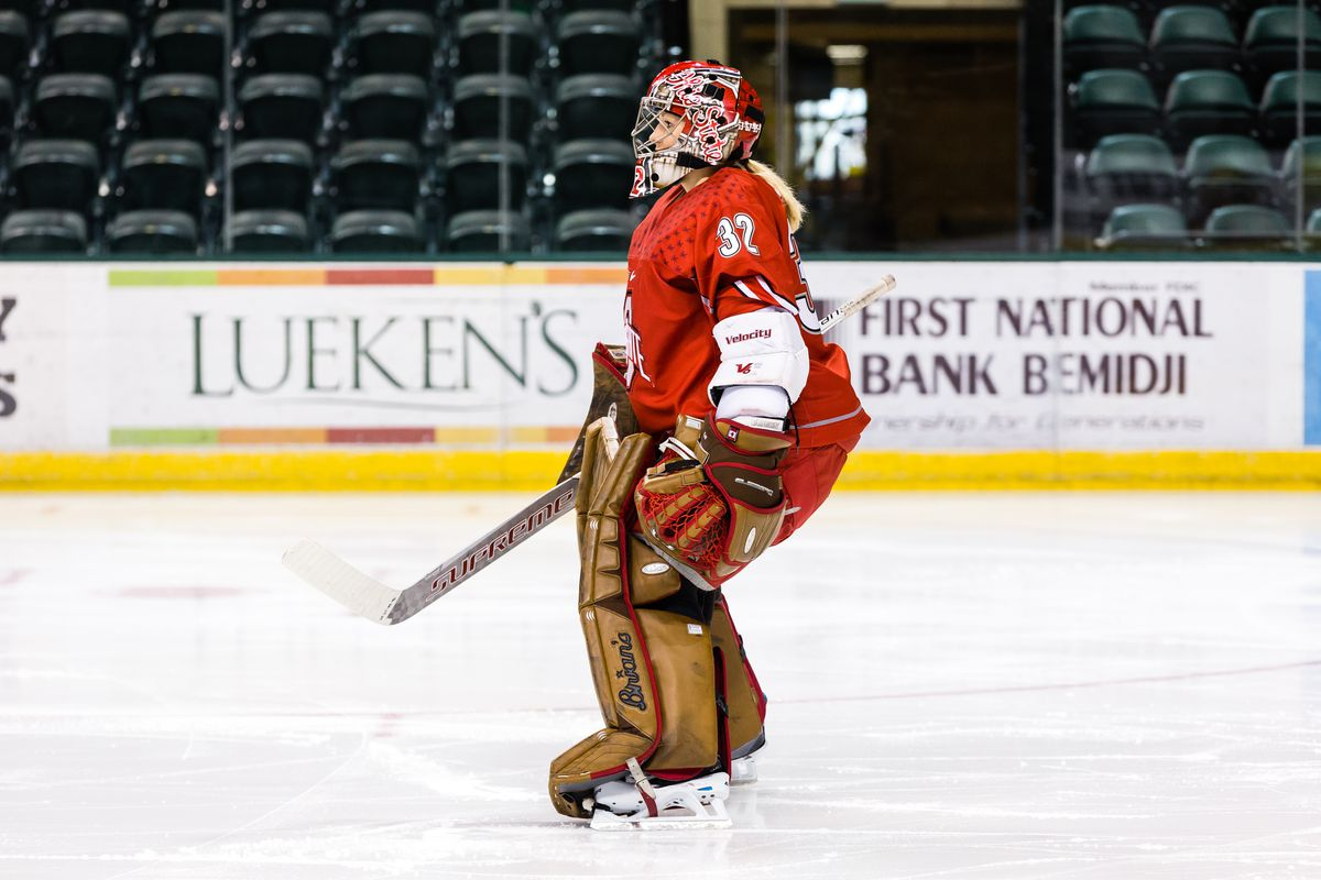goalie to goalie an interview with ohio state u0027s kassidy sauvé