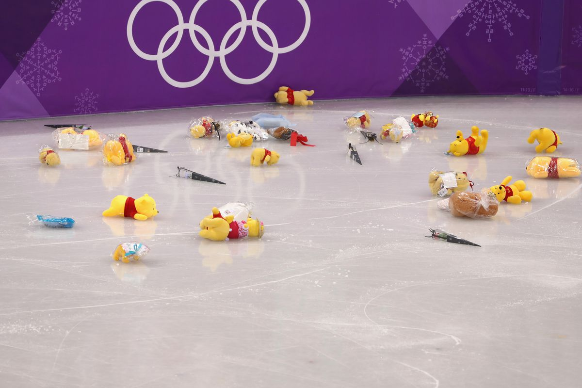 The Stuffed Animals Given to Olympic Figure Skaters, Explained