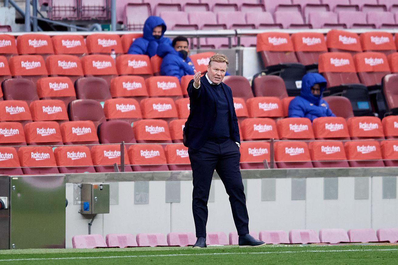 Koeman admits Barcelona needed Elche win