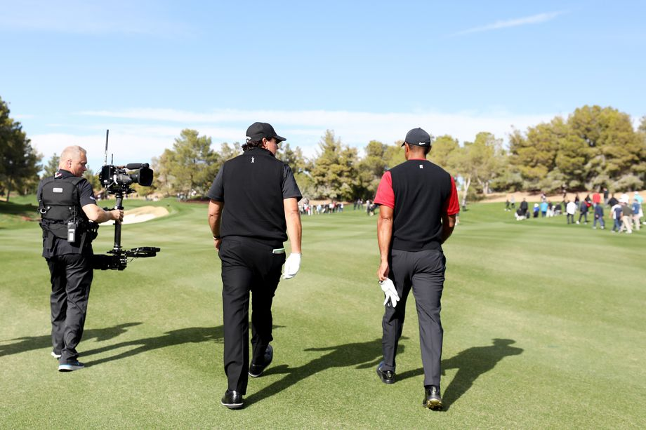 Tiger and Phil at The Match