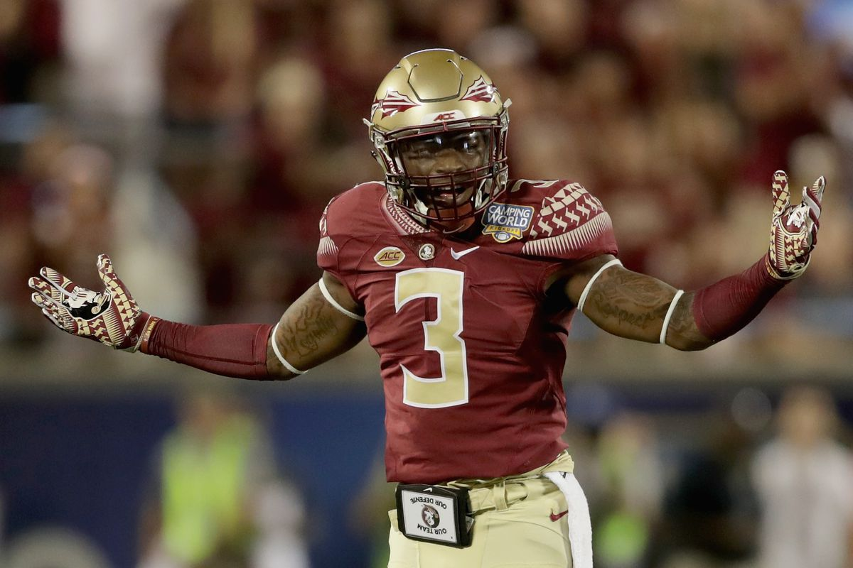 buy online 89fb9 41f23 Even Florida State's Derwin James thinks he's college ...