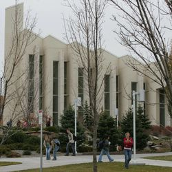 John Taylor building on campus at BYU-Idaho in Rexburg, Idaho Nov. 1, 2005.