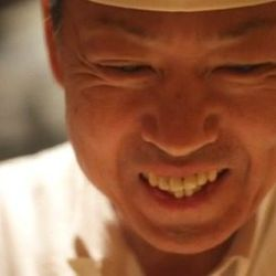 """<a href=""""http://ny.eater.com/archives/2013/01/watch_chef_eiji_ichimura_prepare_sushi_at_brushstroke.php"""">A Cut Above: Chef Eiji Ichimura</a>"""