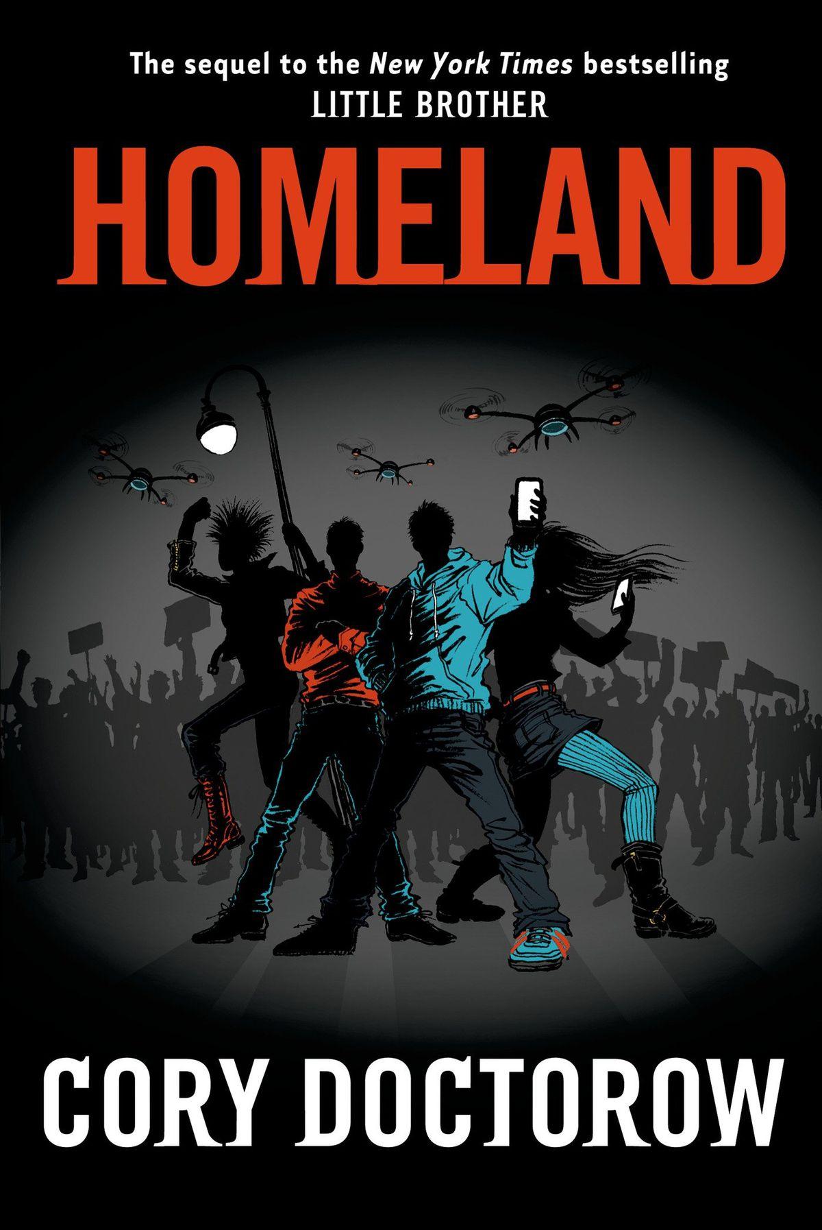Cover to Cory Doctorow's novel Homaland