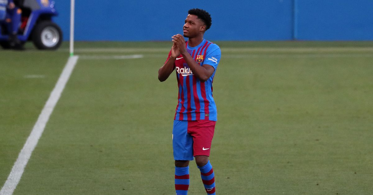 Ansu Fati expected to return sometime this month - Barca Blaugranes