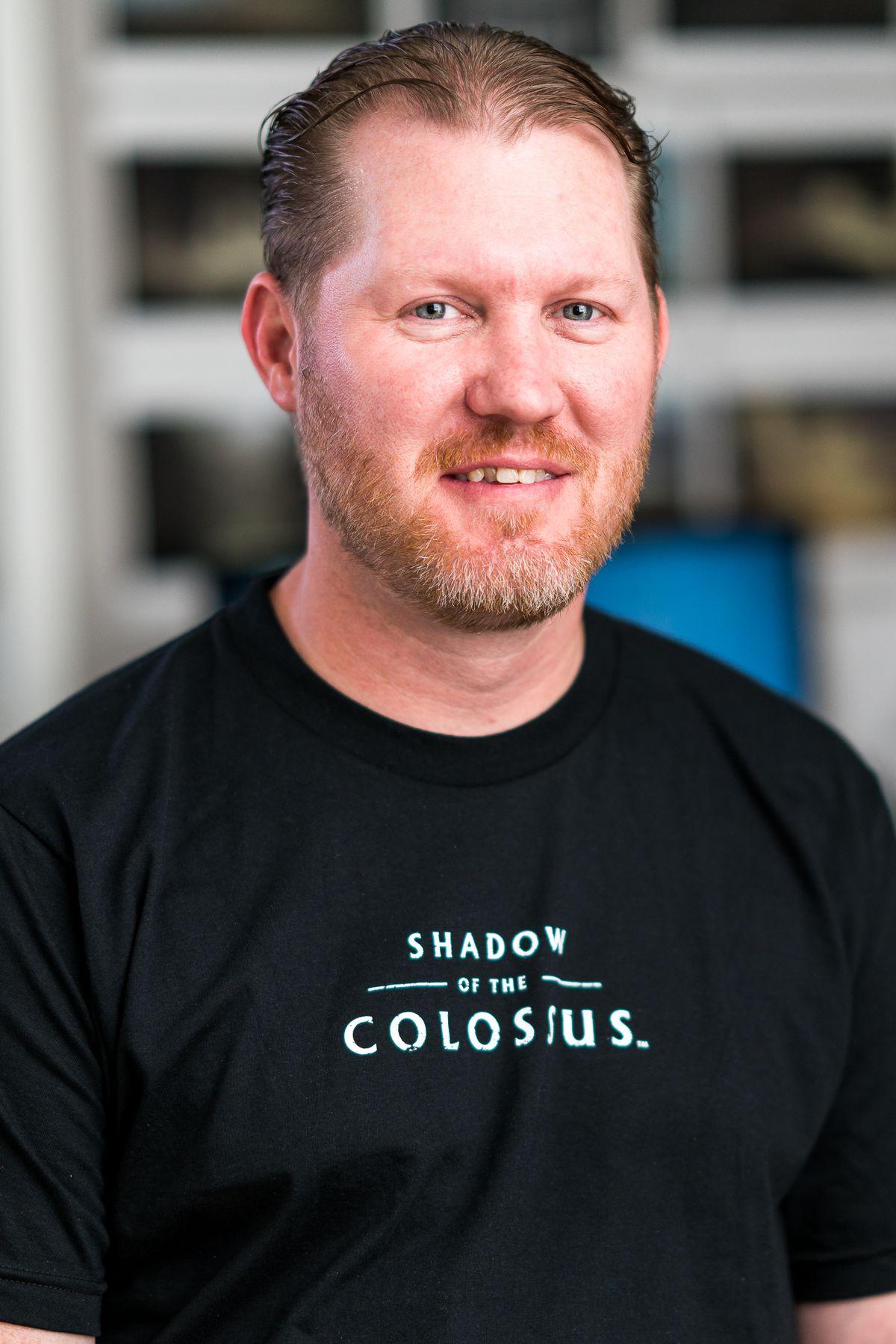 Bluepoint Games technical director Peter Dalton