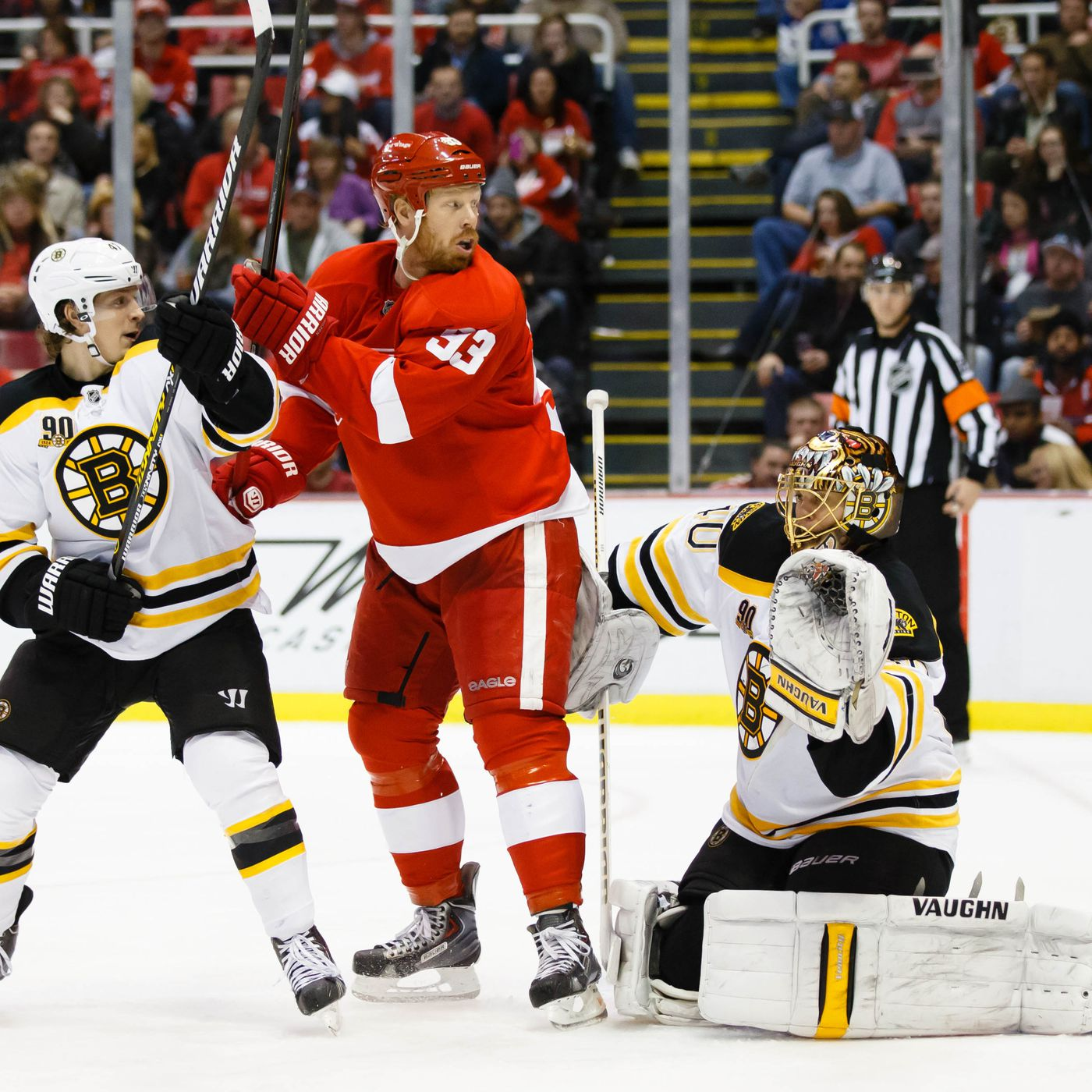 Bruins vs  Red Wings preview: On paper, Boston clearly the