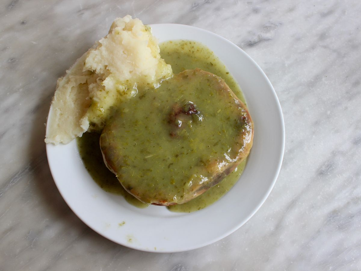 Pie and mash in London: London's best pie and mash shops include F Cooke Hoxton Street