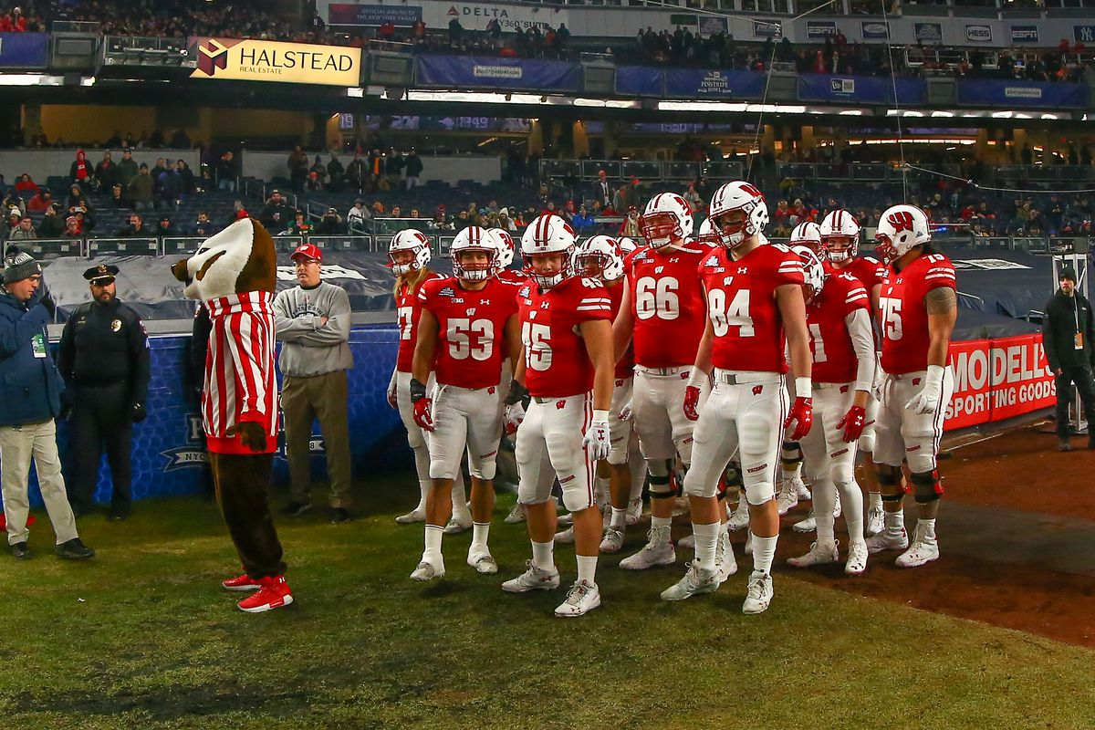 COLLEGE FOOTBALL: DEC 27 Pinstripe Bowl - Miami v Wisconsin